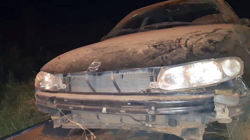 Carro sai da pista e seis pessoas ficam feridas em Peixoto de Azevedo