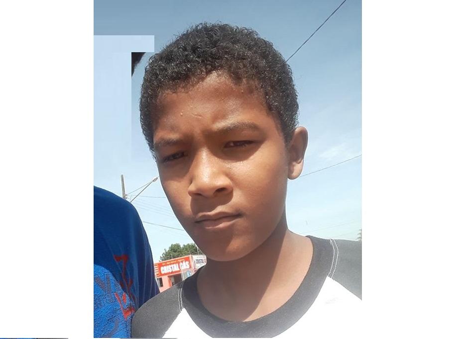 Menino de 13 anos morador de Guarantã do Norte está há 4 dias desaparecido