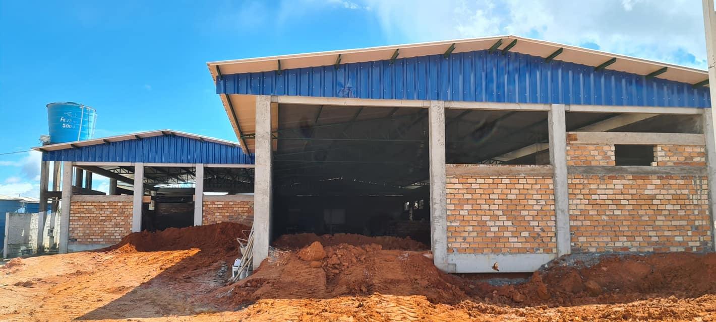 Obras para implantação de Leitos de UTIs estão a pleno vapor em Guarantã do Norte