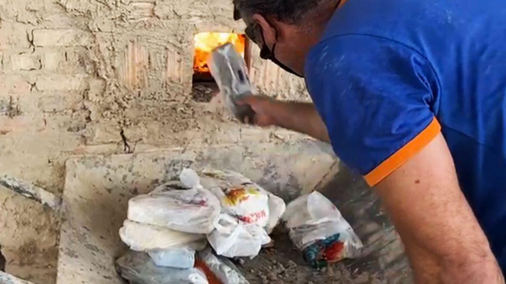 Polícia incinera 25 quilos de drogas que foram apreendidos em Guarantã do Norte