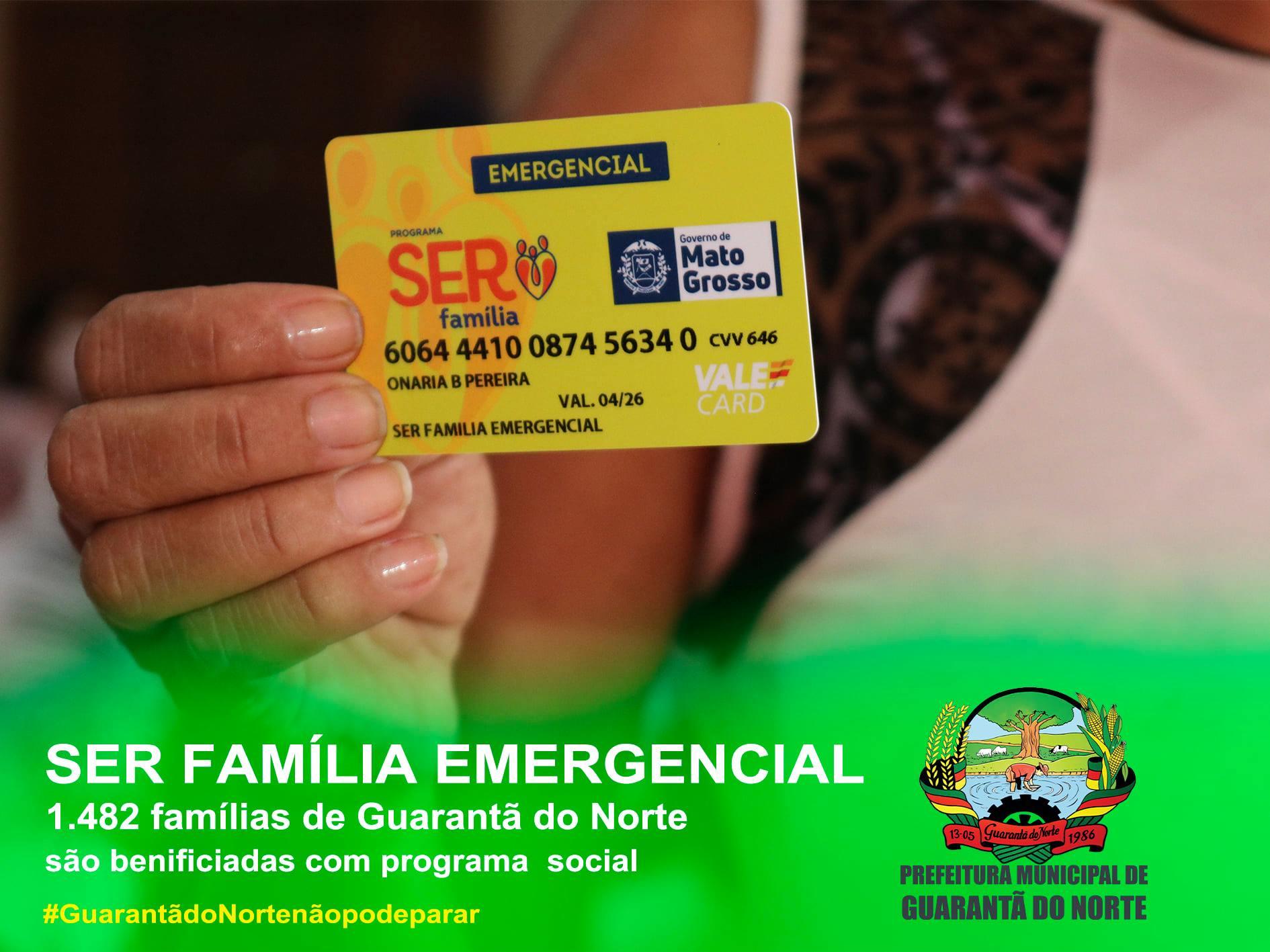 Assistência Social de Guarantã divulga a lista dos beneficiados do Ser Família Emergencial
