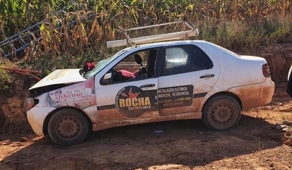 Eletricista morre em acidente na estrada W50 na comunidade Flor da Serra em Matupá