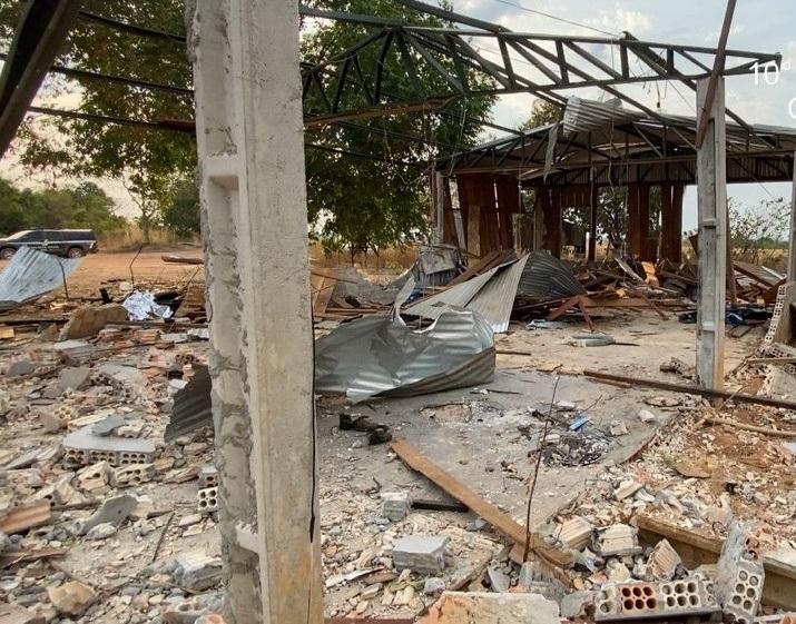 Investigação da Polícia Civil apura que explosivos estavam clandestinamente em garimpo em Guarantã